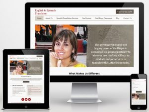 Spanish Web Design