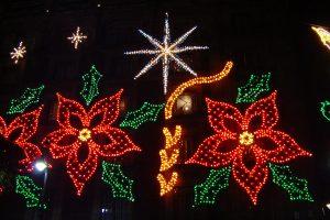 El Zocalo en Navidad